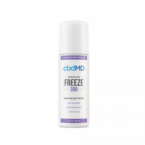 cbdMD Freeze CBD Roll-On 300mg | BareCBDShop.com