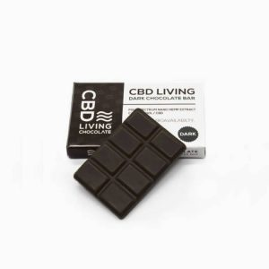 CBD Living CBD Chocolate Bar 120mg - Dark Chocolate - Shop CBD Living | BareCBDShop.com