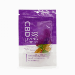 CBD Living CBD Gummy Bears 100mg - Shop CBD Living | BareCBDShop.com