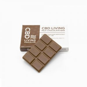 CBD Living CBD Chocolate Bar 120mg - Milk Chocolate - Shop CBD Living | BareCBDShop.com