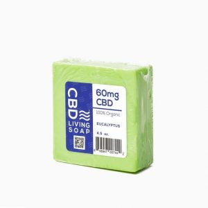 CBD Living Eucalyptus Soap 60mg - Shop CBD Living | BareCBDShop.com