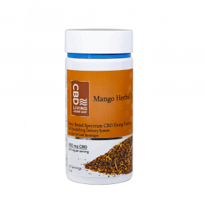 CBD Living Mango Herbal Tea - Shop CBD Living | BareCBDShop.com