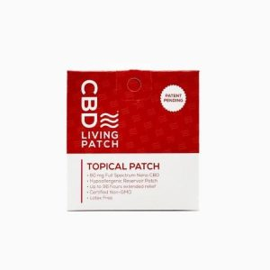CBD Living Topical CBD Patch 60mg - Shop CBD Living | BareCBDShop.com