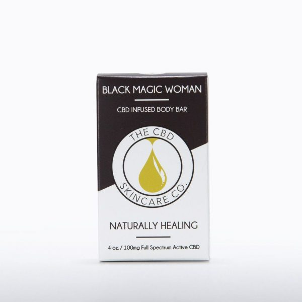 CBD Skin Co Black Magic Woman Body Bar 100mg - Shop CBD Skincare Co. | BareCBDShop.com