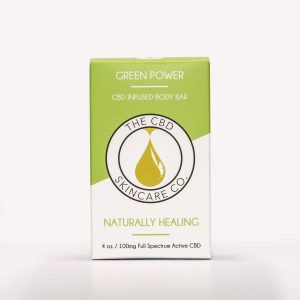 CBD Skin Co Green Power Body Bar 50mg - Shop CBD Skincare Co. | BareCBDShop.com