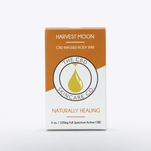 CBD Skin Co Harvest Moon Body Bar 100mg - Shop CBD Skincare Co. | BareCBDShop.com