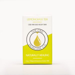 CBD Skin Co Lemongrass Tea Body Bar 50mg - Shop CBD Skincare Co. | BareCBDShop.com