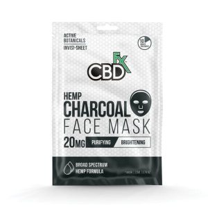 CBDfx Charcoal CBD Face Mask 20mg - Shop CBDfx | BareCBDShop.com