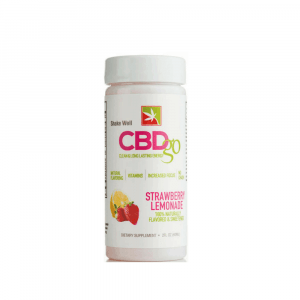 CBDGO Day Time Strawberry Lemonade 50mg - Shop CBDgo | BareCBDShop.com