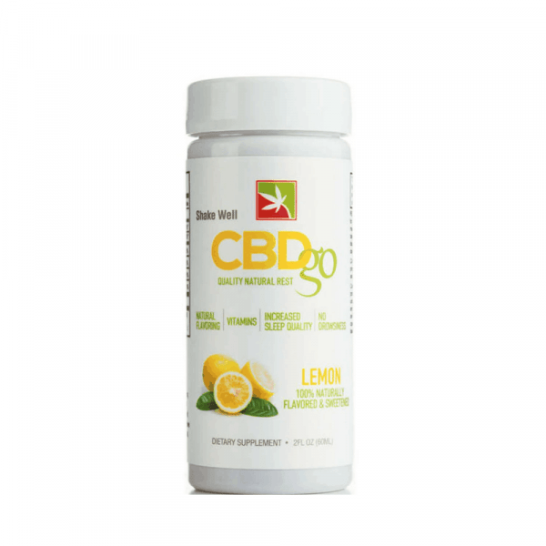 CBDGO Night Time Lemon 50mg - Shop CBDgo | BareCBDShop.com