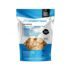 Honest Paws Calming CBD Bites - Peanut Butter - Shop Honest Paws | BareCBDShop.com
