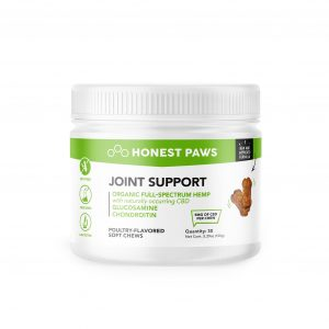 Honest Paws Joint Support CBD Soft Chews - Shop Honest Paws | BareCBDShop.com