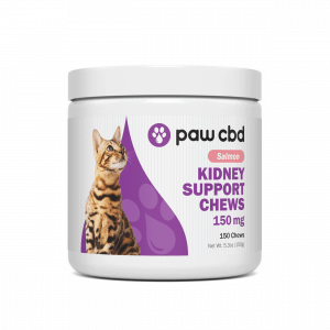 Paw CBD Kidney Support Chews for Cats 150mg - Salmon - Shop Paw CBD | BareCBDShop.com